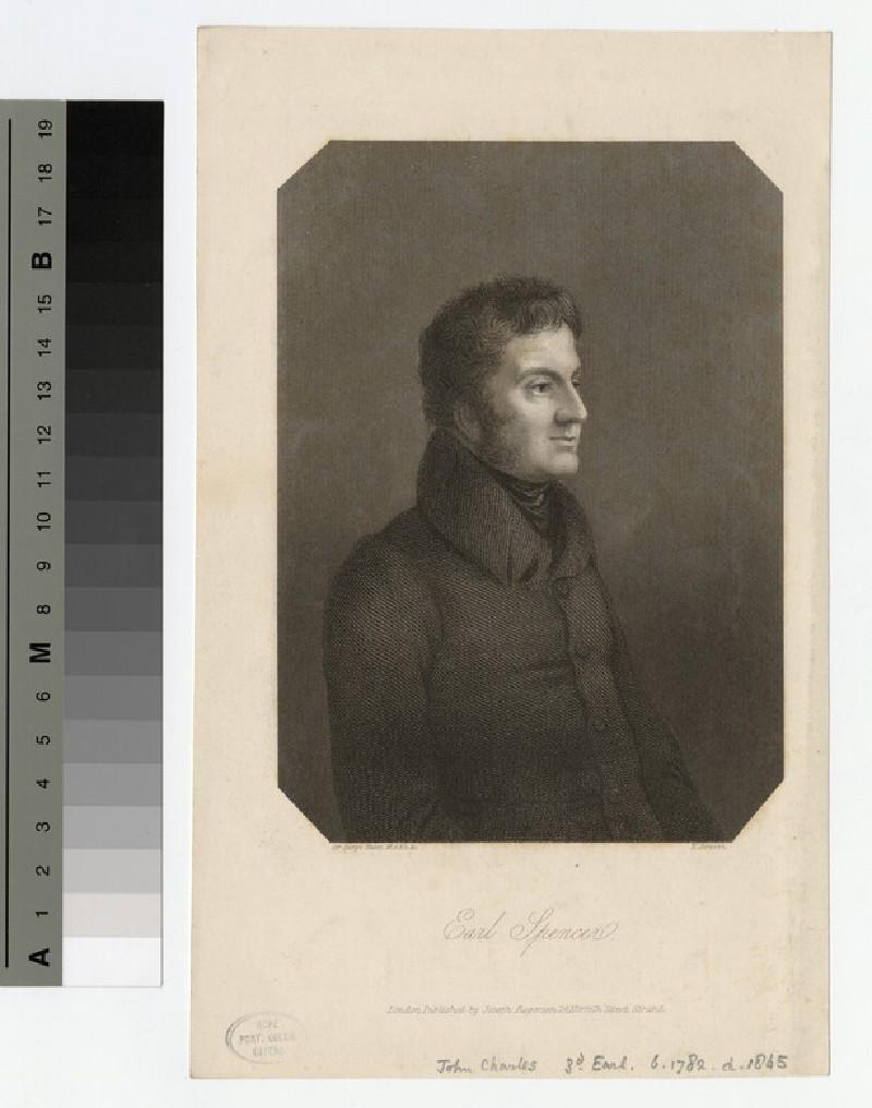 Portrait of John Spencer, 3rd Earl Spencer