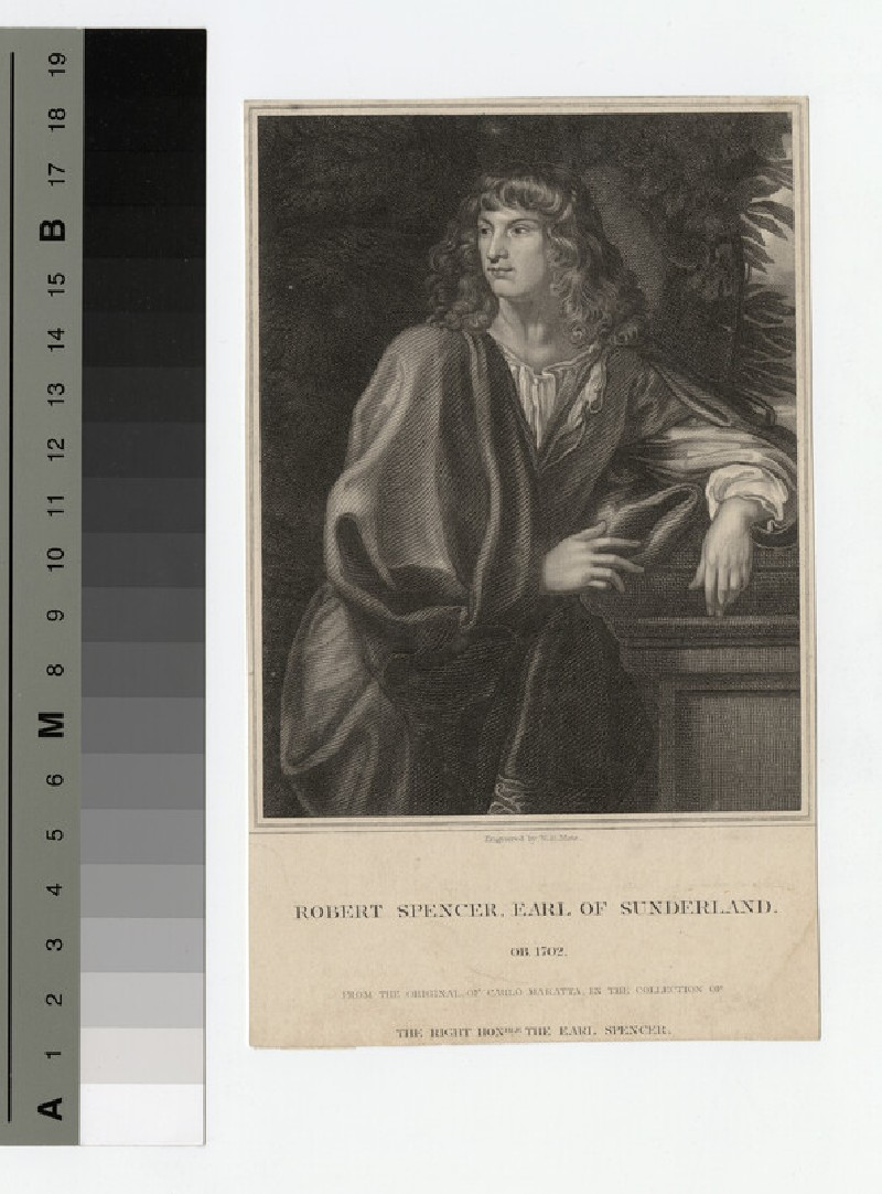 Portrait of Earl Sunderland (WAHP17699)