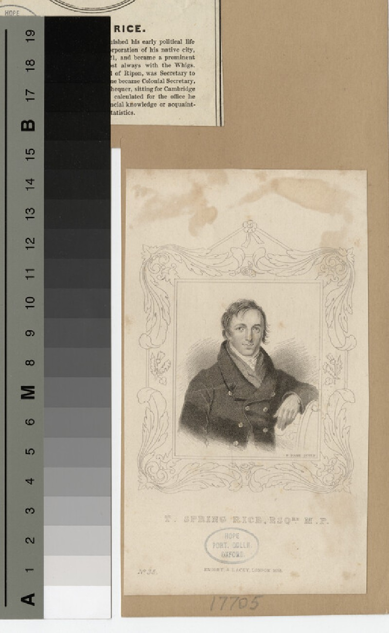 Portrait of T. Spring Rice (WAHP17705)