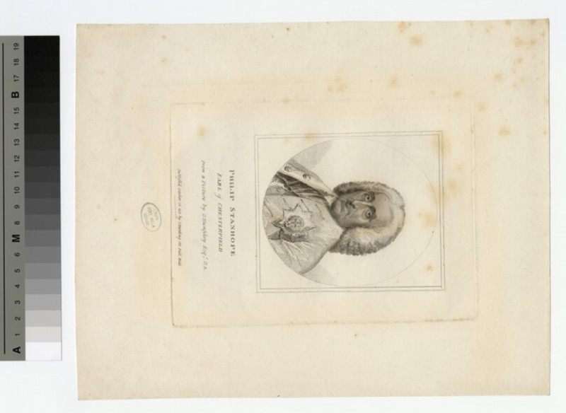 Portrait of Philip Stanhope, 4th Earl of Chesterfield (WAHP17747)