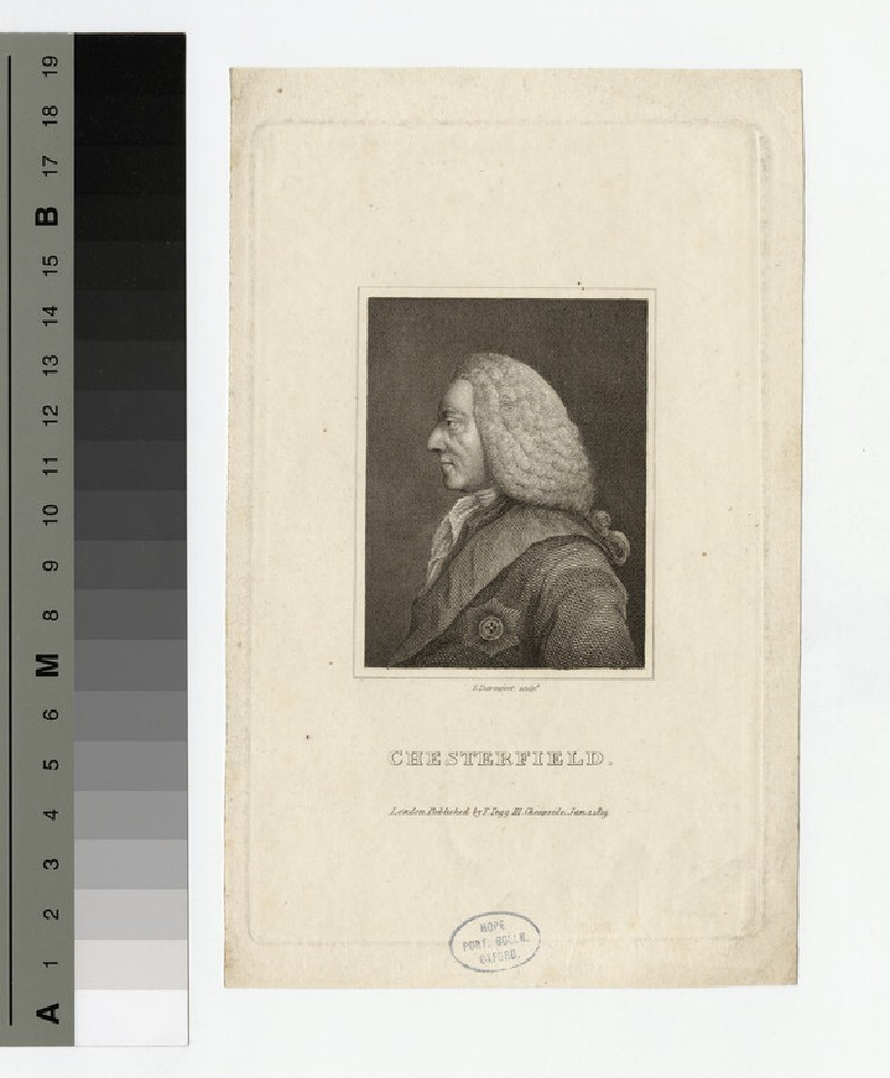 Portrait of Philip Stanhope, 4th Earl of Chesterfield (WAHP17750)