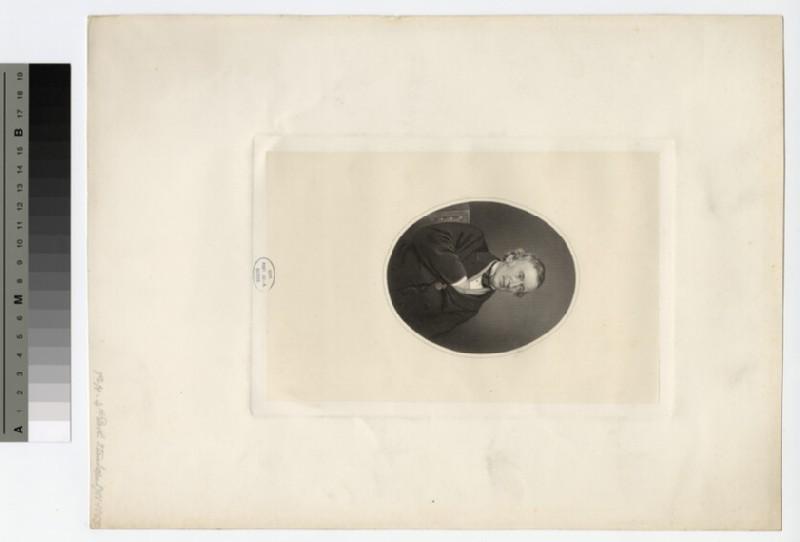 Portrait of Philip Henry Stanhope, 4th Earl Stanhope