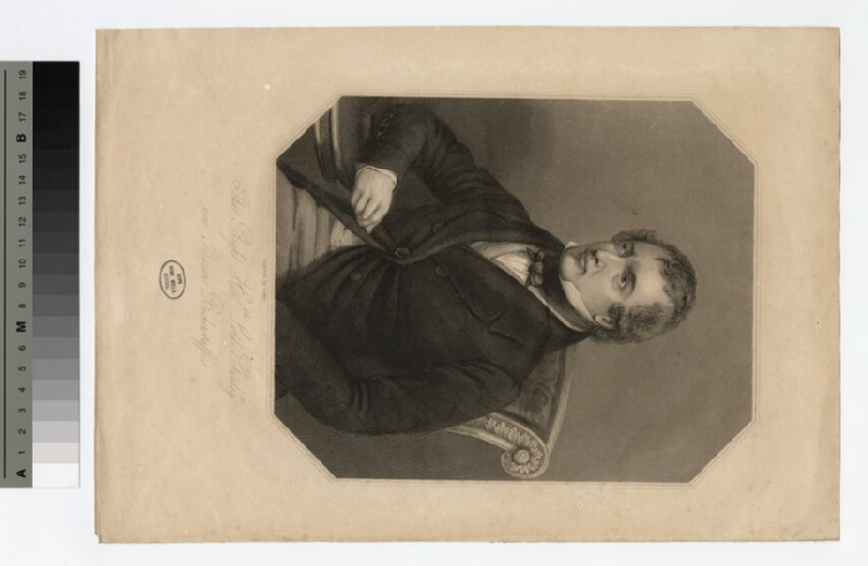 Portrait of Lord ('now Baron Bickerstaffe') Stanley
