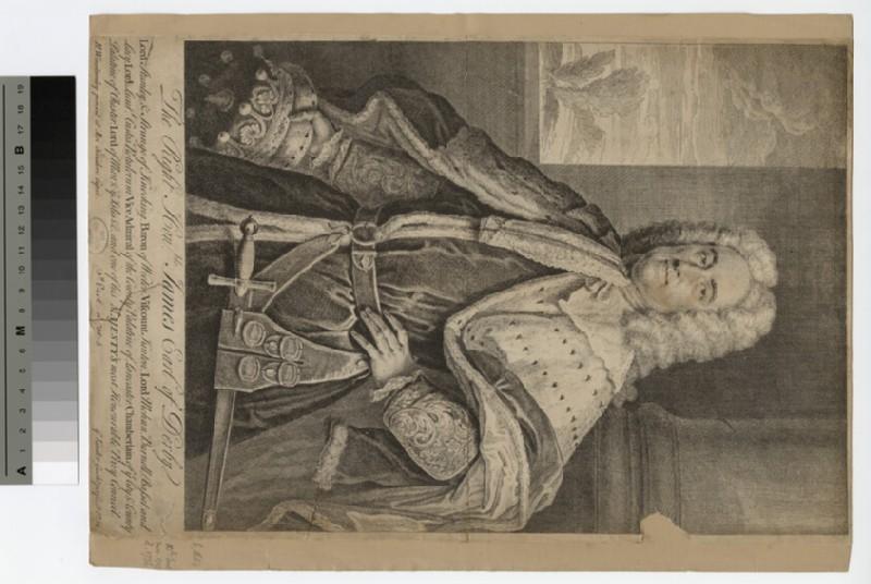 Portrait of James Stanley, 10th Earl of Derby
