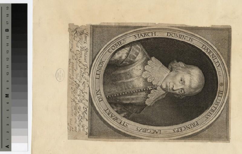 Portrait of Duke of Lennox