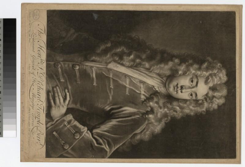 Portrait of Sir R. Temple