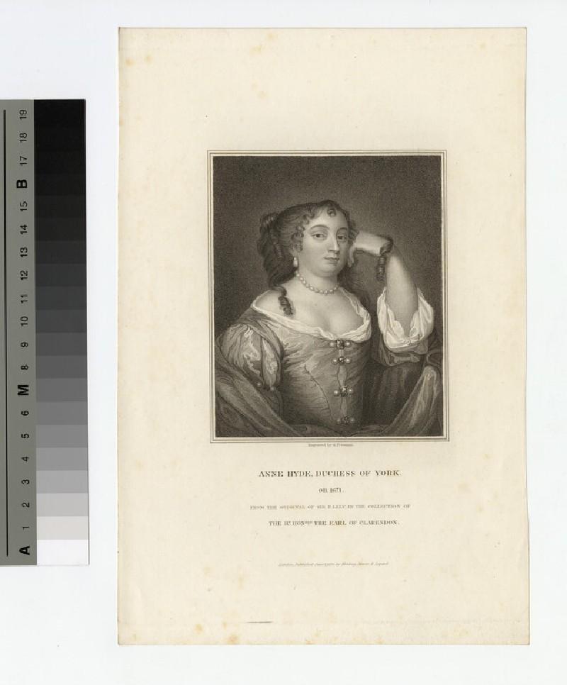 Portrait of Anne Hyde, Duchess of York (WAHP18076)