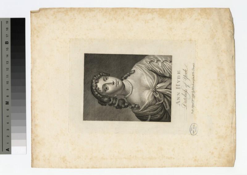 Portrait of Anne Hyde, Duchess of York (WAHP18080)