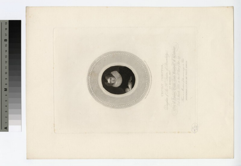 Portrait of Cecily Compton (WAHP18088)