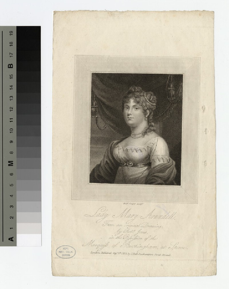 Portrait of Lady Mary Arundell