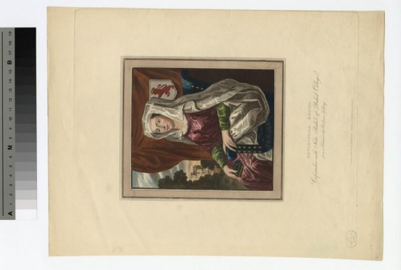 Portrait of Devorguilla Balliol (WAHP18100)