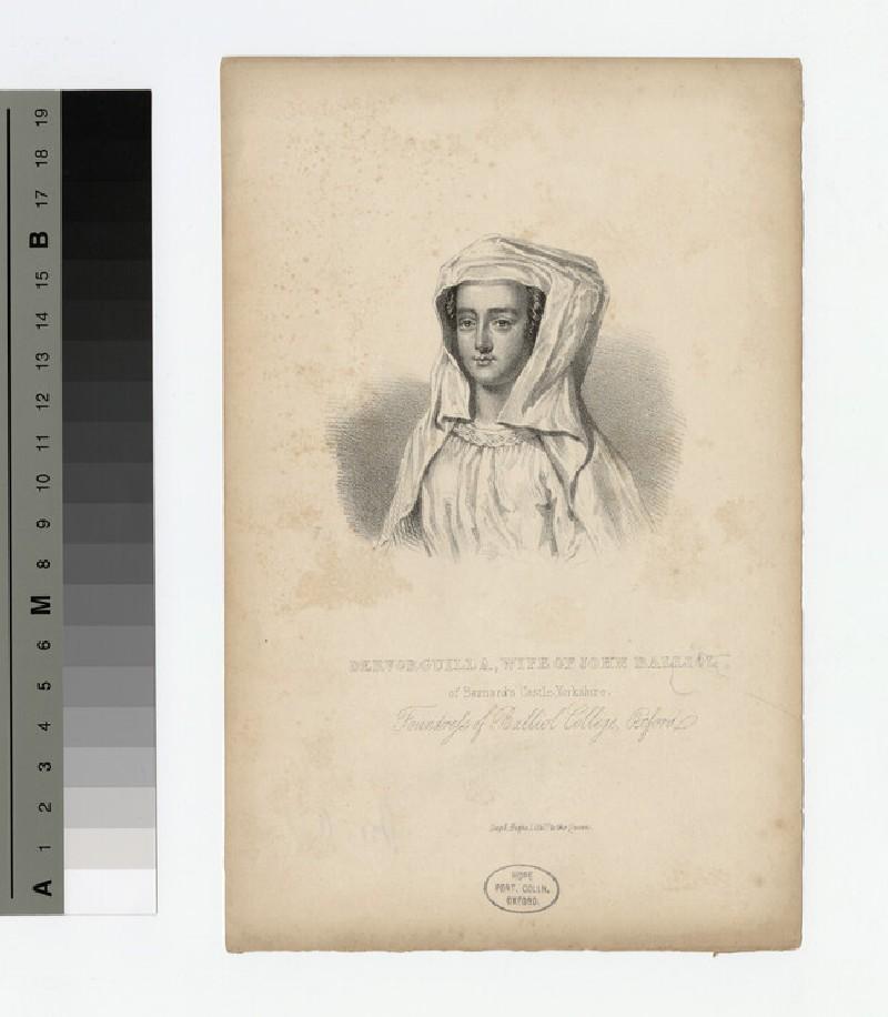 Portrait of Devorguilla Balliol