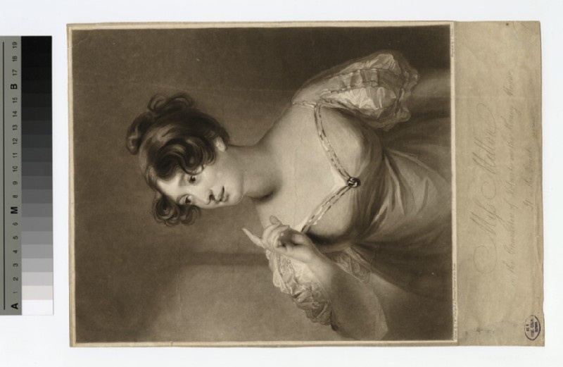 Portrait of Miss Mellon (WAHP18107)