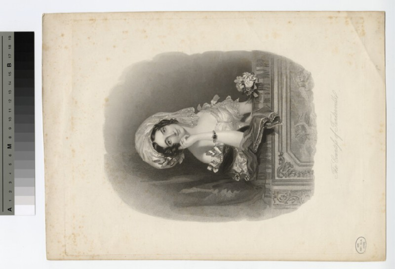 Portrait of Countess Tankerville (WAHP18116)
