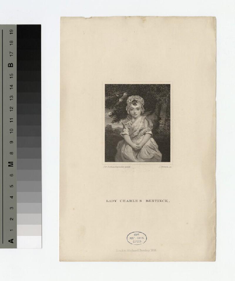 Portrait of Lady Charles Bentinck (WAHP18118)