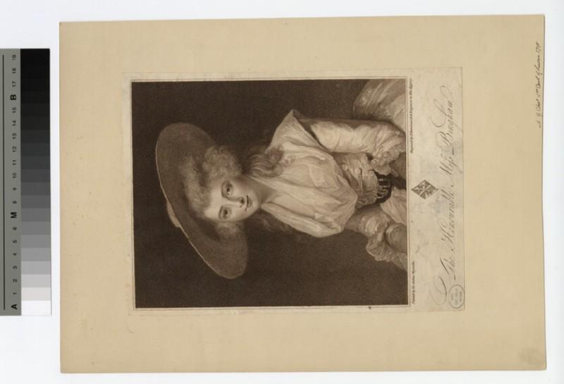 Portrait of Miss Bingham