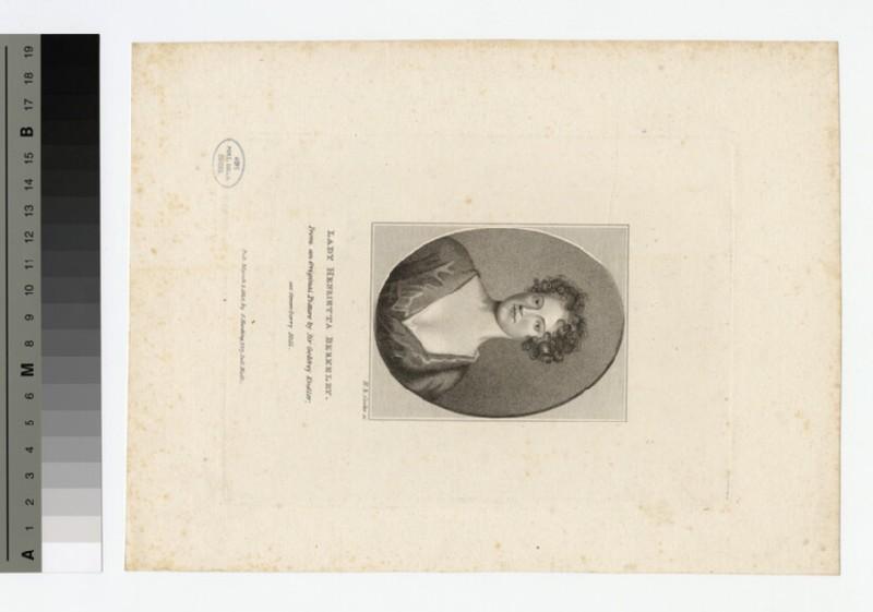 Portrait of Henrietta Berkeley