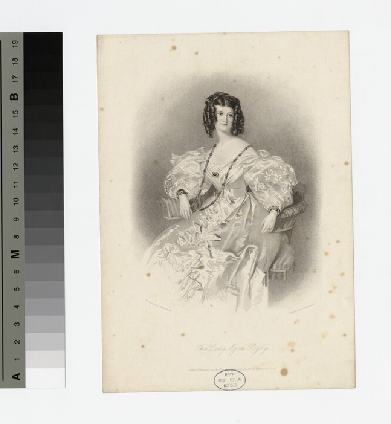 Portrait of Lady Agnes Byng (WAHP18183)