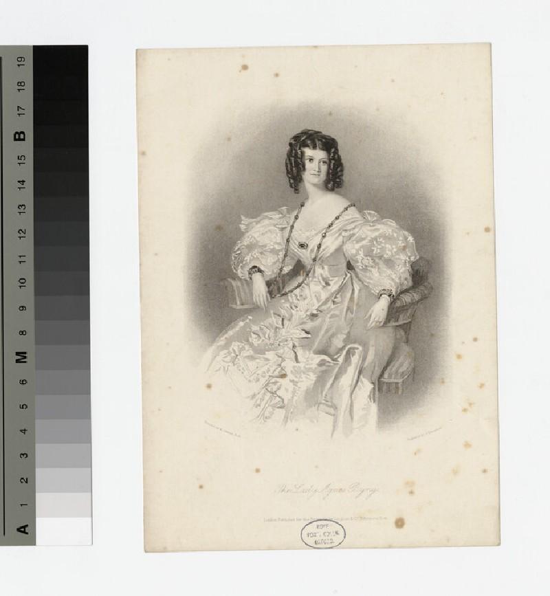Portrait of Lady Agnes Byng