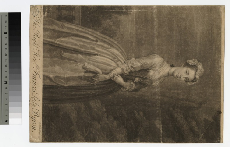 Portrait of Lady Byron (WAHP18186)