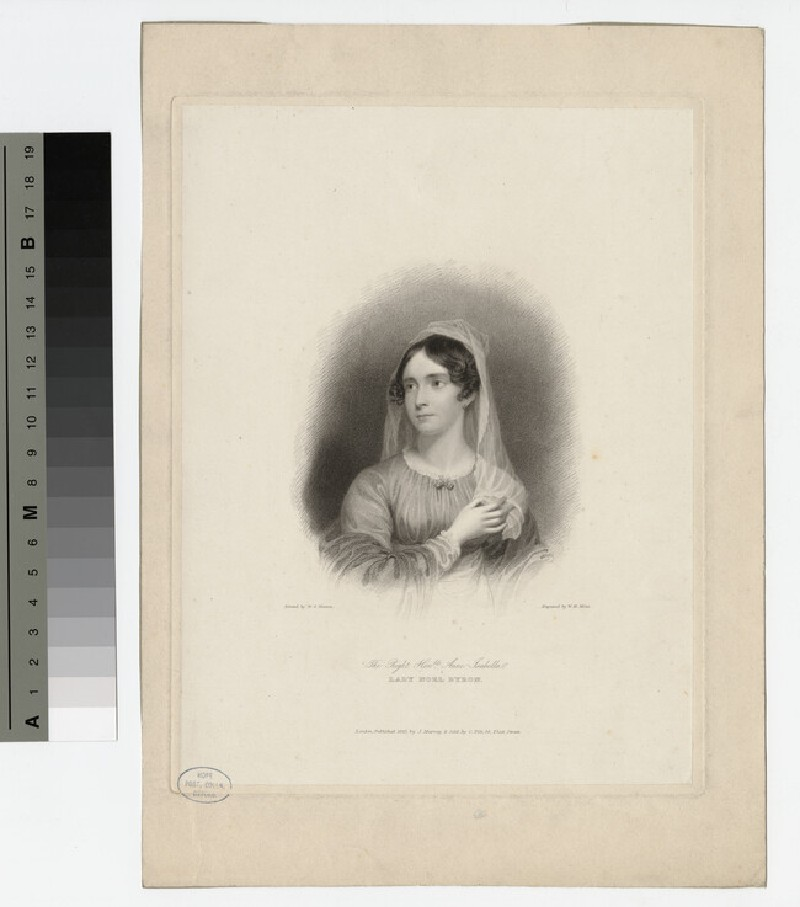 Portrait of Lady Noel Byron