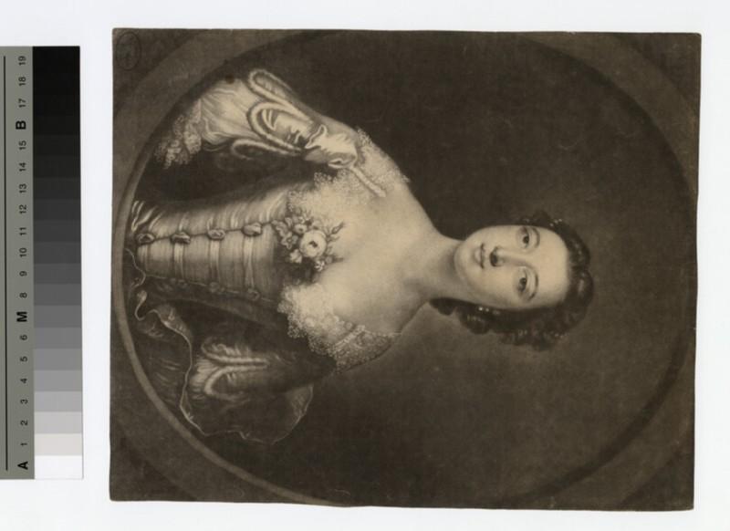 Portrait of Elizabeth Gunning