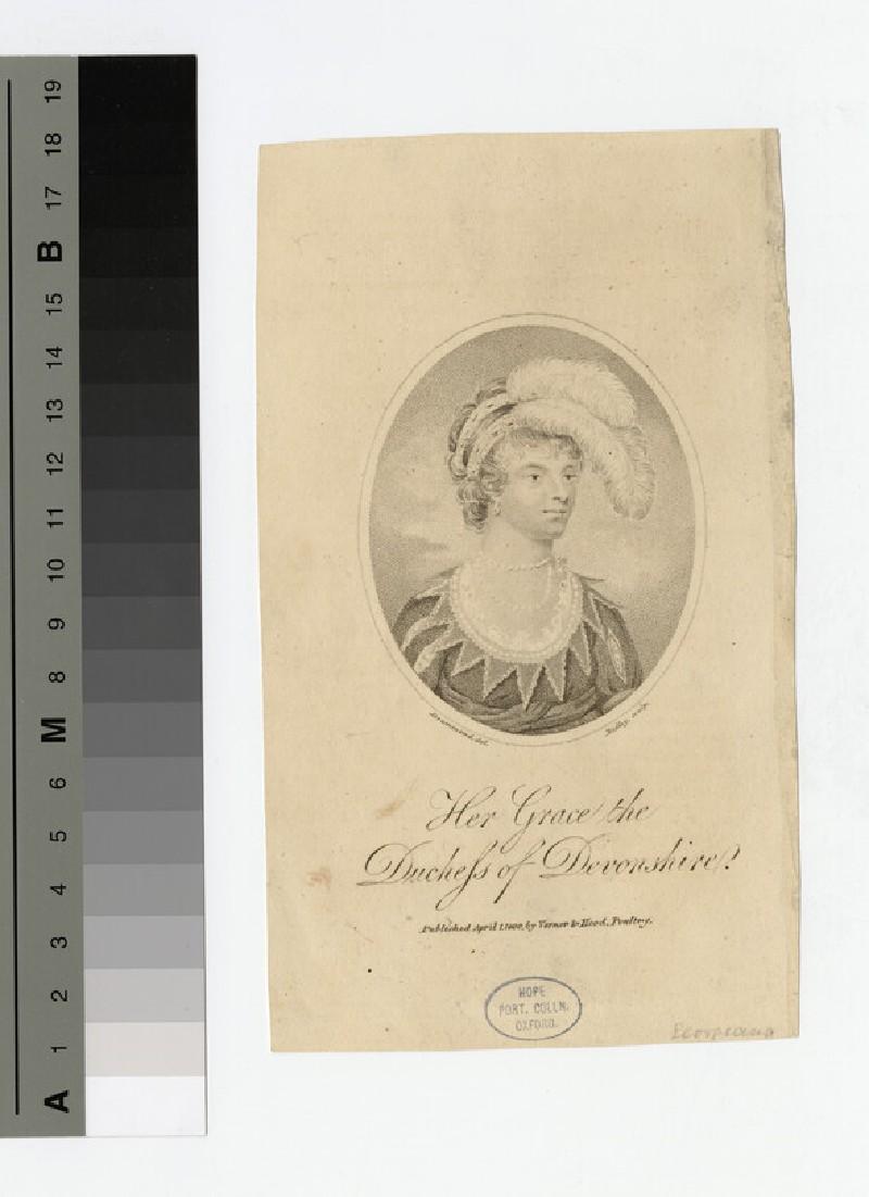 Portrait of Duchess Devonshire