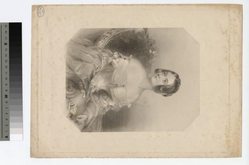 Portrait of Laura Paget