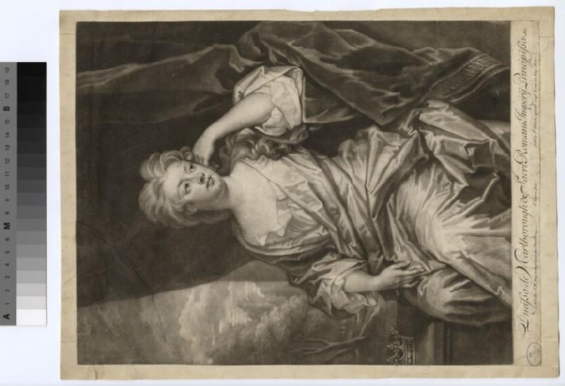 Portrait of Duchess Marlborough (WAHP18287)