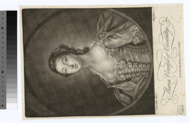 Portrait of Countess Coventry