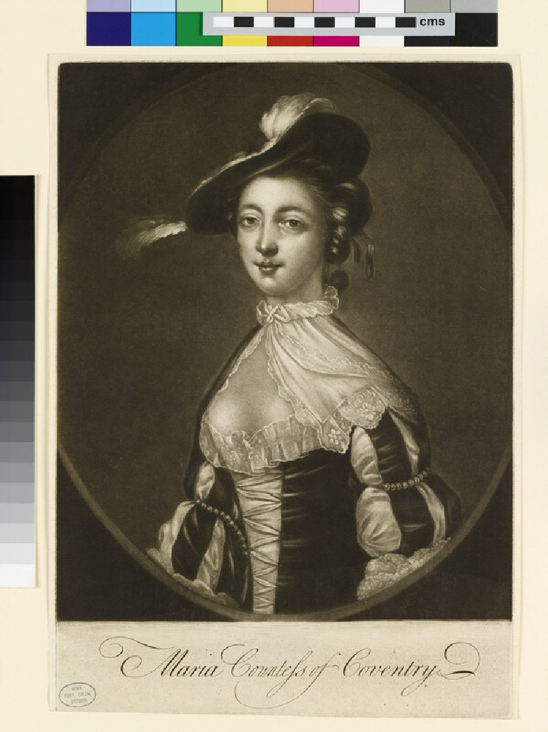 Maria, Countess of Coventry (WAHP18337.1)