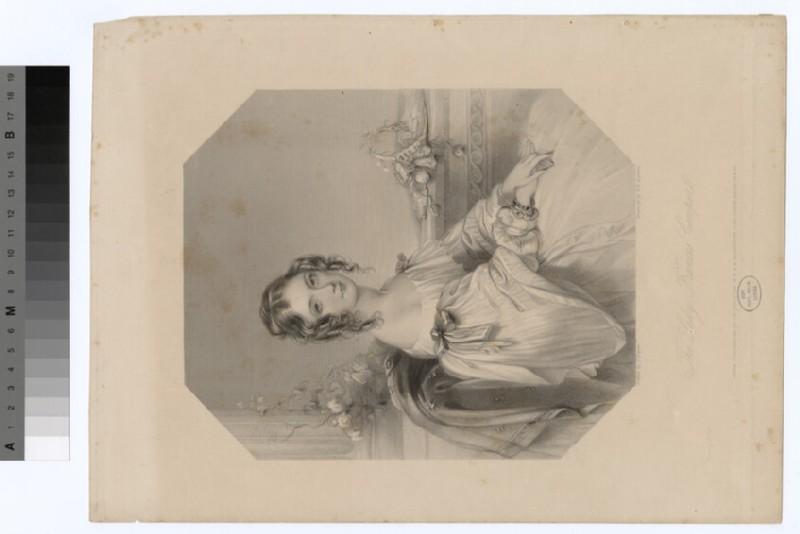 Portrait of Lady Frances Cowper