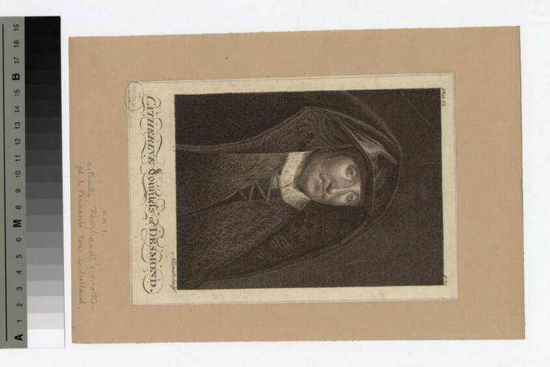 Portrait of Countess Desmond (WAHP18372)