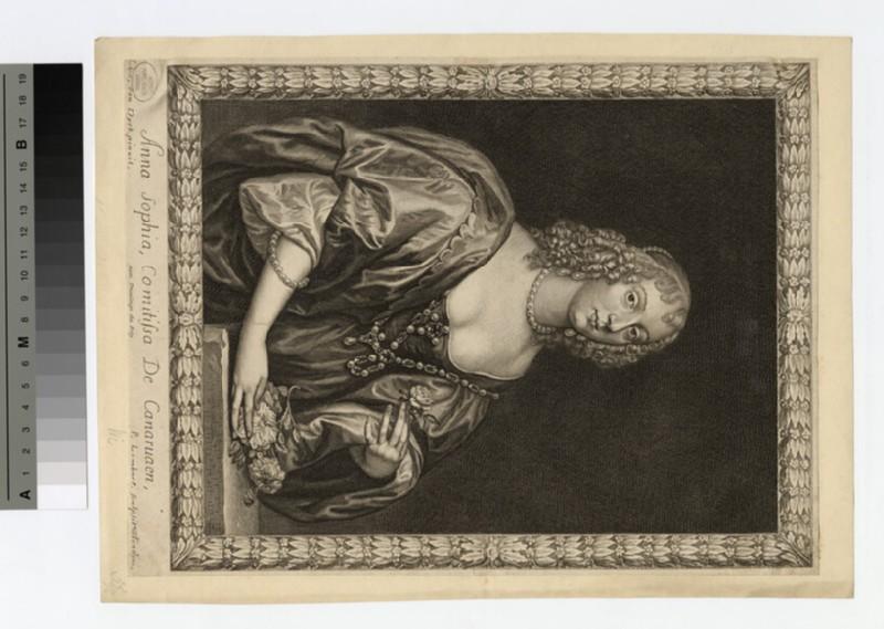 Portrait of Countess Carnarvon