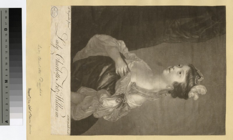 Portrait of Lady Charlotte Fitzwilliam