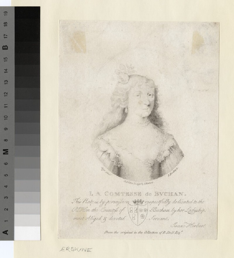 Portrait of Mary Douglas, Countess of Buchan