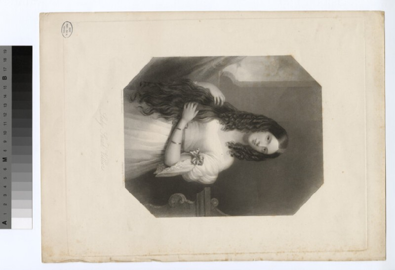 Portrait of Lady Sarah Villiers (WAHP18416)