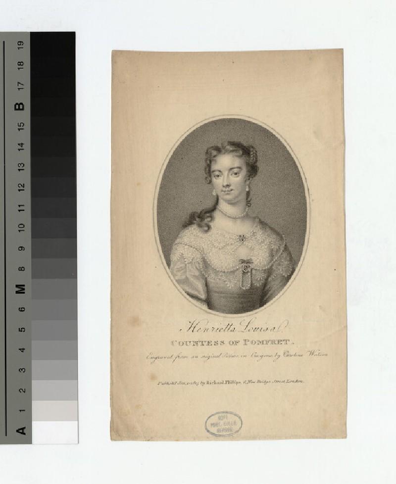 Portrait of Countess Pomfret