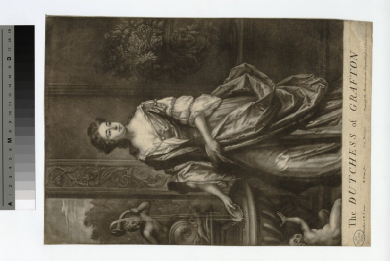 Portrait of Duchess Grafton (WAHP18439)