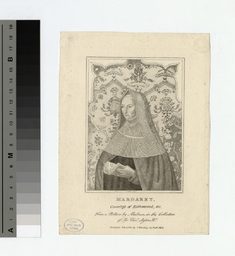 Portrait of Margaret, Countess of Richmond