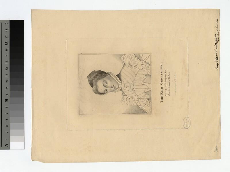 Portrait of Lady Elizabeth Fitzgerald