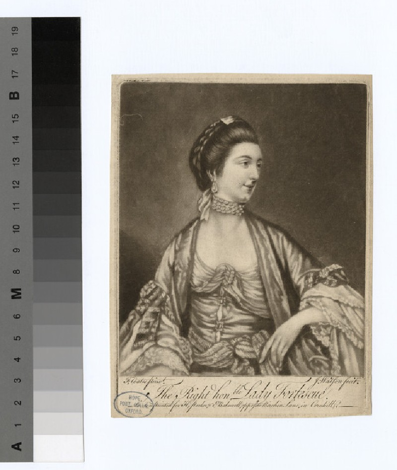 Portrait of Rt Hon. Lady Fortescue
