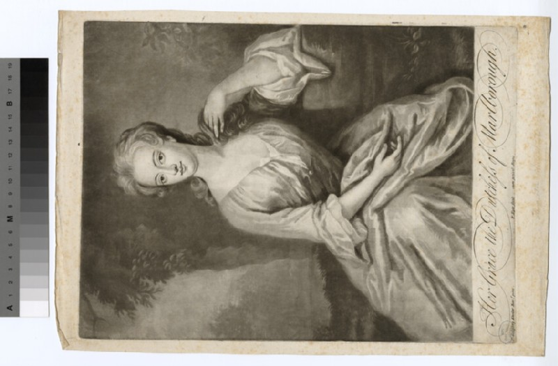 Portrait of Duchess of Marlborough
