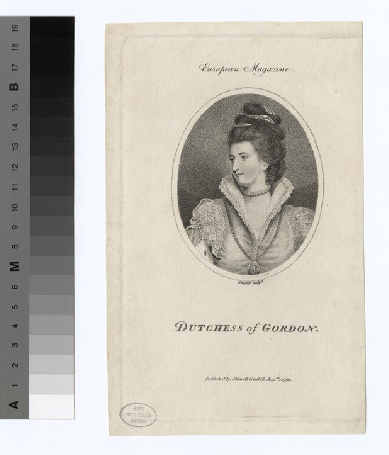 Gordon, Duchess