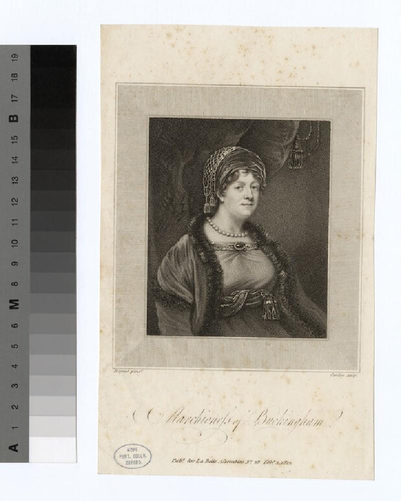 Portrait of Marchioness Buckingham