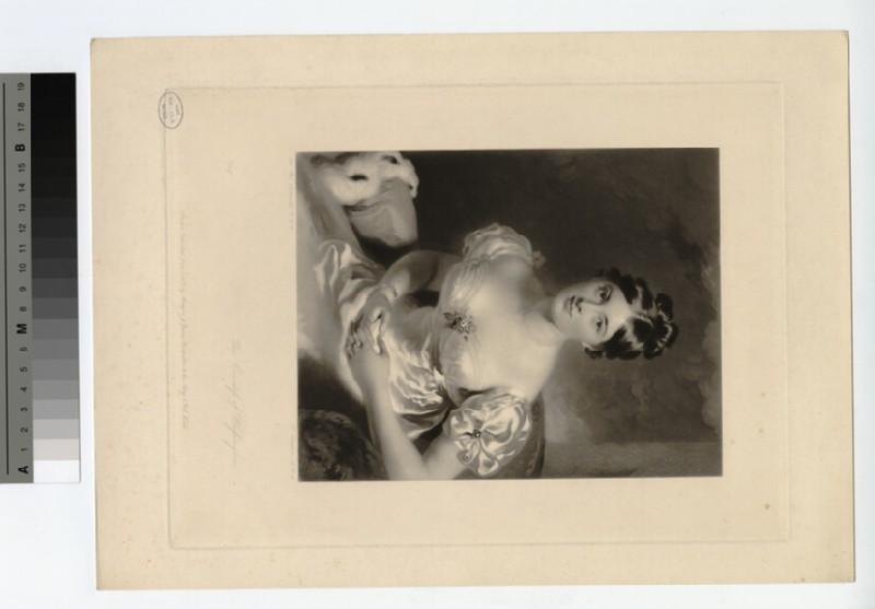Portrait of Countess Blessington (WAHP18497)