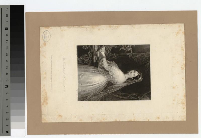 Portrait of Countess Blessington