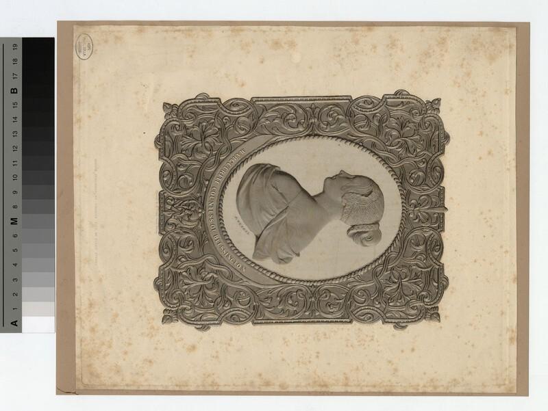 Portrait of Countess Blessington (WAHP18501)