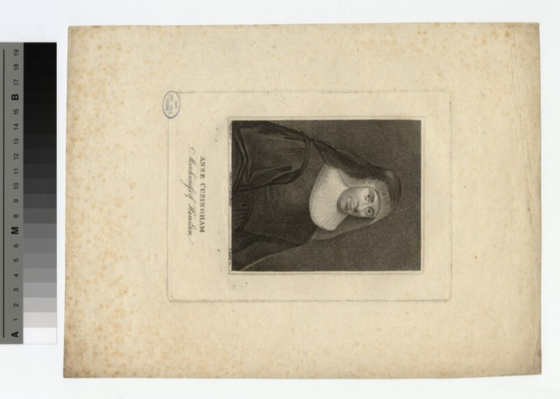 Portrait of Anne Cuningham, Marchioness of Hamilton