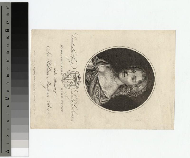 Portrait of Lady Colerane